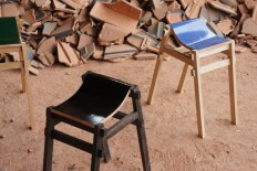 The Kawara Chair finds a new use for discarded Japanese roof tiles - The Fox Is Black