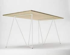 White Table Trestle by Master&Master — Designspiration