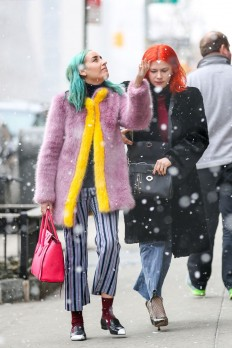 Below-Freezing NYC Street Style That's Still On Fire