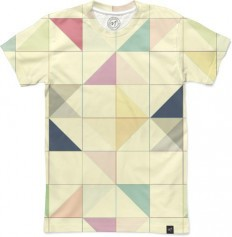 Triangles and Squares Men's T-Shirts by Metron | Nuvango