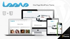Loovo - clean WordPress One Page Theme
