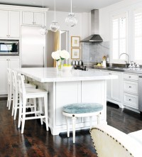 Black*Eiffel: Another Gorgeous White Kitchen...