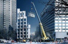 "New York to Complete First Prefabricated ""Micro-Apartments"" this Summer 