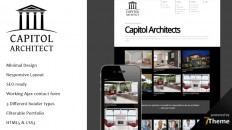 Capitol - WordPress Architect Theme