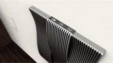 Sophisticatedly chic wall heater by Gianluca Camarda   Hometone