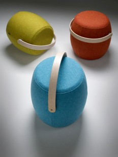 A Stool You Can Carry Around With You - Design Milk