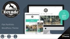 Dorado - Creative WordPress Portfolio Theme