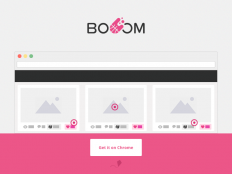 Booom - Landing page by Brian Moyano
