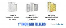1 inch Air Filter, Furnace Filters & Air Conditioner Filters