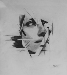 Imogen (Abstract) Sketch on Inspirationde