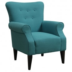 Emerald Home Furnishings Lydia Neon Button Back Arm Chair | AllModern