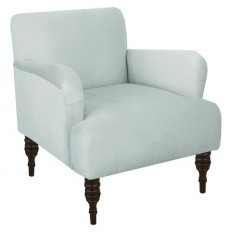 Skyline Accent Chair - Velvet Pool : Target