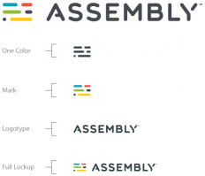 Brand New: New Logo and Identity for Assembly by Focus Lab