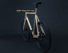 Wooden Bike by Paul Timmer