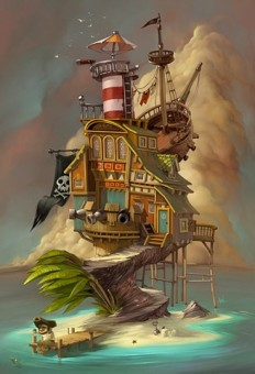 Illustration / COOL SHOWCASE - Digital Art - Castaway on illustration
