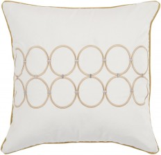 RugStudio presents Surya Pillows BCO-510 Ivory/Gold