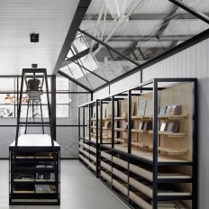 Artedomus New Showroom in Black and White – Fubiz™