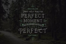 Don't wait For the Perfect Moment, Take the Moment & Make It Perfect on Inspirationde