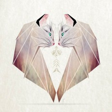 Inspired By Tangram, I Started Creating Geometric Illustrations Of Animals on Inspirationde