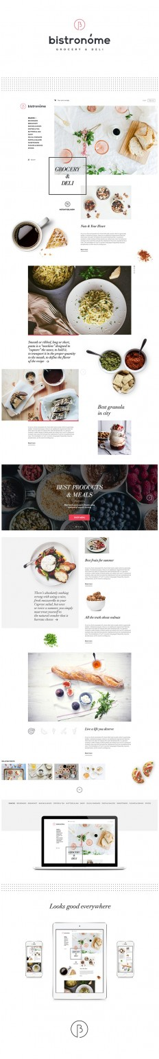 Identity / Bistronóme — Naming, Logotype & Website on Behance