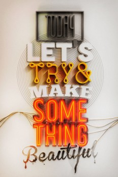 Typographic Posters / Typography Appreciation - Something Beautiful on Behance.