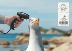 Surfrider Foundation: Barcode scanner, 2 | Ads of the World™
