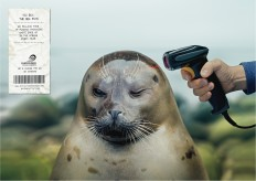 Surfrider Foundation: Barcode scanner, 1 | Ads of the World™