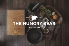 The Hungry Bear Logo design on Inspirationde