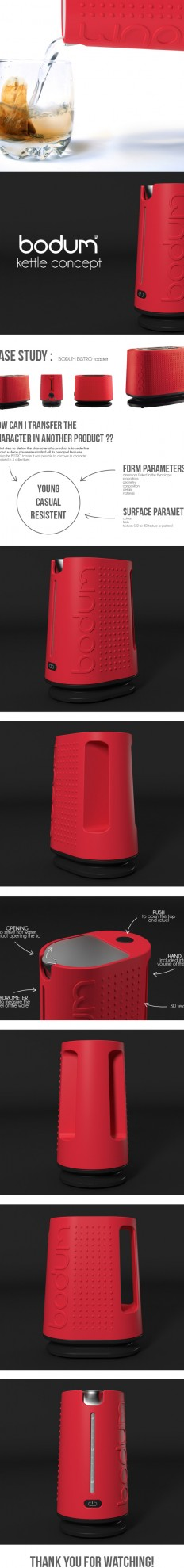 Bodum / kettle concept on
