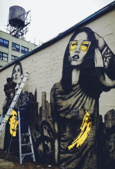 Artist :Fin Dac – Street Art on Inspirationde