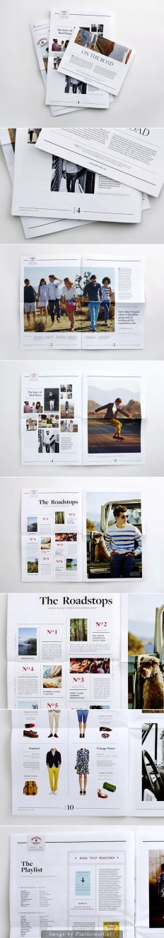 Newspaper | Design | Pinterest