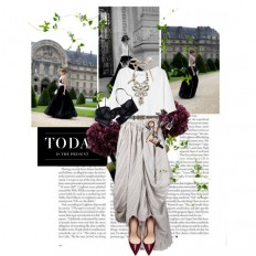 today is the present - Polyvore