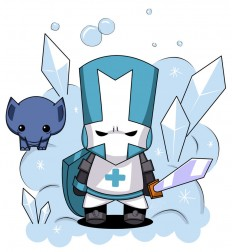 castle crashers characters blue knight - Google Search