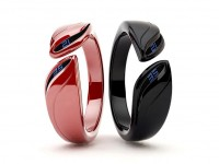 Time Bracelet - A Digital Watch Design Inspired By Leaves   Tokyoflash