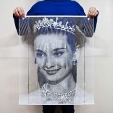 Handcut paper portraits by Korean artist Yoo Hyun - NetDost.com