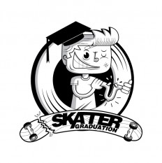 Skater Graduation by oscar ospina on Inspirationde