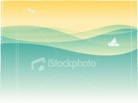 Birds and boat | Stock Illustration | iStockphoto.com