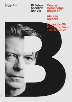 Poster Bowie on Flickr. Poster Bowie by Quim Marin - Quim Marin Portfolio