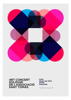 Solidary Concert Poster on Flickr. - Quim Marin Portfolio