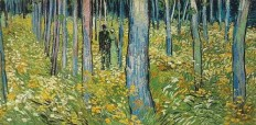 vincent-van-gogh-a-couple-walking-in-the-forest.jpg (Image JPEG, 718 × 353 pixels)