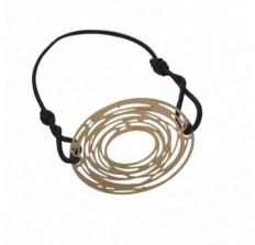 idmonde|Bracelet Filigrane OVALE Doré