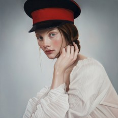 Realistic paintings by artist Mary Jane Ansell mixes the classical with contemporary - NetDost.com