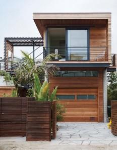 Sandy cul-de-sac in Stinson Beach, California, architects Matthew Peek and Renata Ancona on Inspirationde
