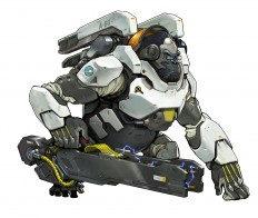 ArtStation - Overwatch - Winston Concept, Arnold Tsang