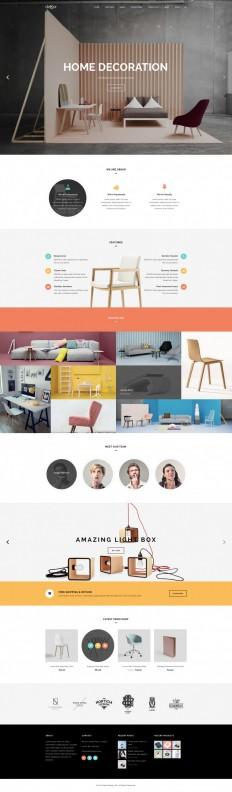 deKor – Interior WP Template on Inspirationde