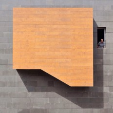 Playful photographs with abstract architectural backgrounds by Serge Najjar - NetDost.com