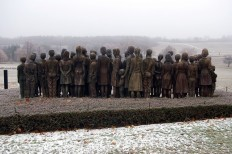 Lidice war memorial sculpture by Marie Uchytilová - NetDost.com