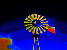 Windmill by Howard Lee - Art Print from The Untapped Source