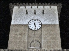 """clock tower 2"" Photography art prints and posters by Howard Lee - ARTFLAKES.COM"