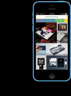 Portfolio UI on